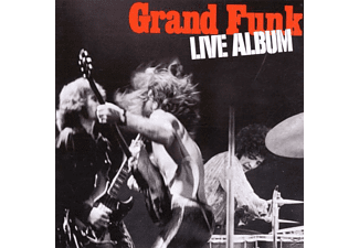 Gr Funk Railroad, Grand Funk Railroad - LIVE ALBUM - (CD)