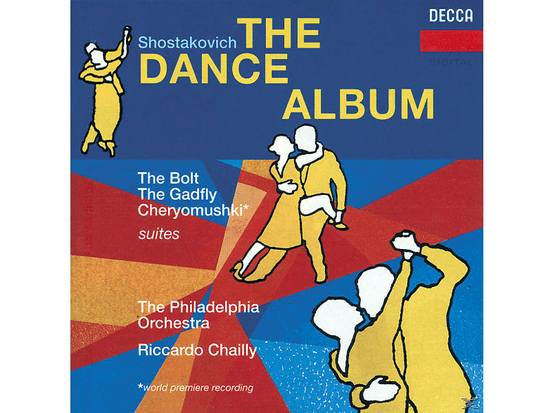 VARIOUS, Riccardo/pdo Chailly - Dance (Orchestersuiten) [CD]