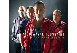Nico Wayne Toussaint - SOUTHERN WIND BLOWING - (CD)
