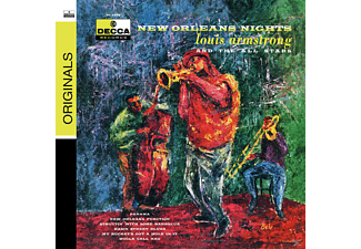 Louis Armstrong - New Orleans Nights - (CD)