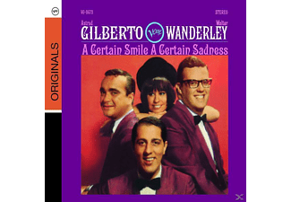 Astrud Gilberto, Gilberto, Astrud / Wanderley, Walter - A Certain Smile, A Certain Sadness - (CD)