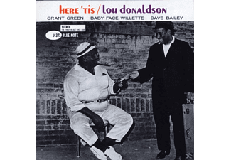 Lou Donaldson - HERE TIS (RVG EDITION) - (CD)