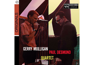 Gerry Mulligan, Mulligan, Gerry / Desmond, Paul - Blues In Time - (CD)