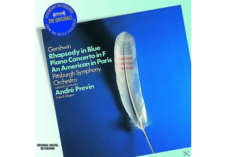 André Previn - Rhapsody In Blue/Klavierkonzert [CD]