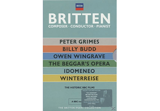 PEARS, SIR PETER / BRITTEN, BENJAMI, Pears, Peter / Britten, Benjamin - The Britten-Pears Collection [DVD]