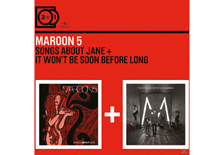 Maroon 5 - 2 FOR 1 - SONGS ABOUT JANE/IT WON T BE SOON BEFORE - (CD)