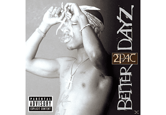 2Pac - Better Dayz - (CD)
