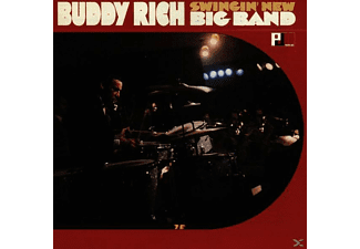 Buddy Rich & His Band, Buddy Rich - Swingin' New Big Band - (CD)