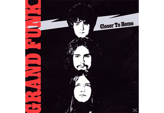 Gr Funk Railroad, Grand Funk Railroad - Closer To Home - (CD)