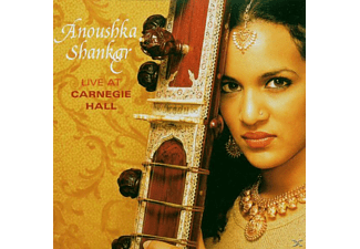 Anoushka Shankar - Live At Carnegie Hall - (CD)