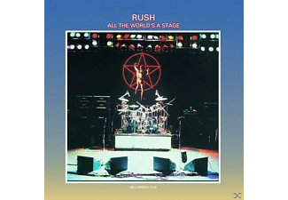 Rush - All The World's A Stage - (CD)