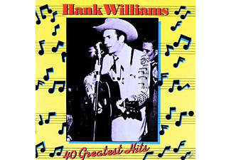 Hank Williams - 40 Greatest Hits - (CD)
