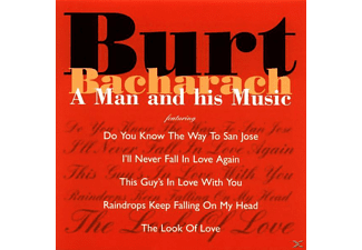 Burt Bacharach - A Man And His Music - (CD)