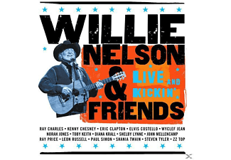 Willie Nelson, Willie / Friends Nelson - LIVE & KICKIN - (CD)