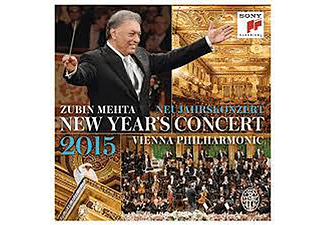 Vienna Philharmonic - New Year's Concert 2015 (CD)