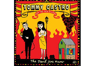 Tommy Castro, Painkillers - The Devil You Know - (CD)