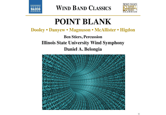 Ben Stiers, Illiois State University Wind Symphony - Point Black - (CD)