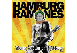 Hamburg Ramoenes - Going Down In History - (CD)