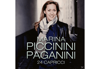 Marina Piccinini - 24 Caprices - (CD)