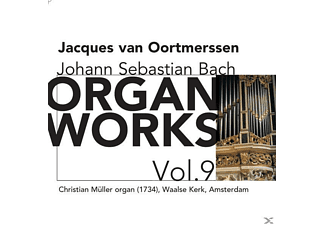 Jacques Van Oortmerssen - Organ Works Vol.9 - (CD)