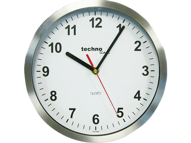 TECHNOLINE WT7650 Metall Analoge Wanduhr