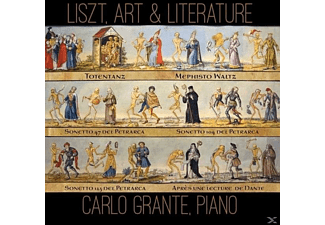 Carlo Grante - Liszt, Art And Literature [CD]