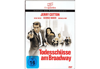 TODESSCHÜSSE AM BROADWAY (JERRY COTTON) - (DVD)
