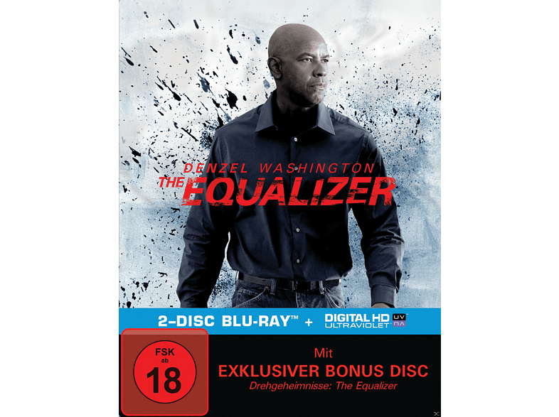 The Equalizer (Exklusive Steelbook Edition) [Blu-ray]