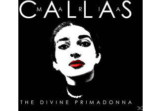 Maria Callas - The Divine Primadonna - (CD)