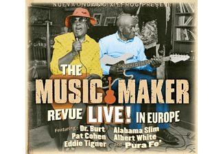 DR.BURT/COHEN,PAT/TIGNER,EDDIE/ALABAMA SLIM/WHITE, - The Music Maker Revue Live In Europe - (CD)