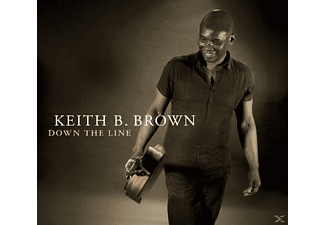 Keith B. Brown - Down The Line - (CD)