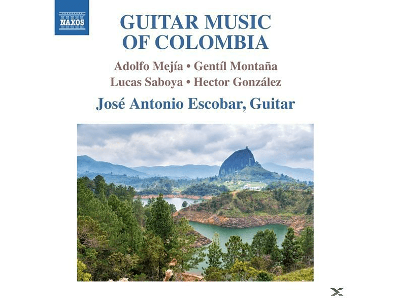 Escobar - Guitar Music of Colombia [CD]