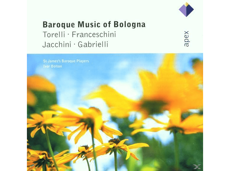 Ivor Bolton, St.James's Baroque Players - Baroque Music Of Bologna [CD]