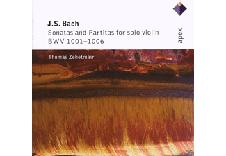 Thomas Zehetmair - Bach:Sonatas/Partitas For Viol - (CD)