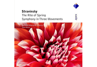 New York Philharmonic Orchestra - Stravinsky- The Rite Of Spring - (CD)