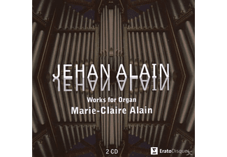 Claire Alain - Jehan Alain - Works For Organ [CD]