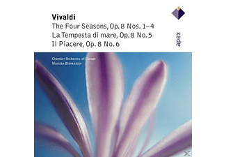 Blankestijn - The Four Seasons, Op.8, 1-4/Op.8, 5-6 - (CD)