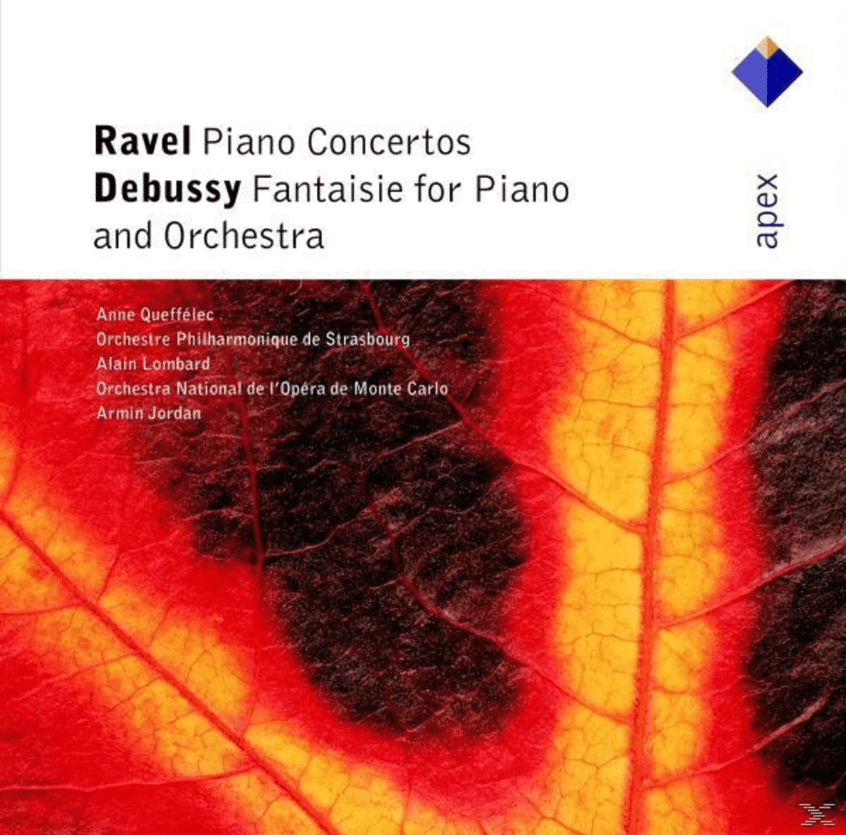 Queffelec - Piano Concertos, Fantaisie - (CD)