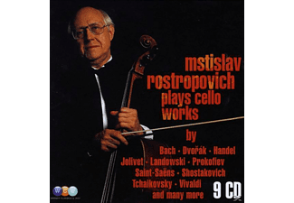 Mstislav Rostropovich - Mstislav Rostropovich Plays Cello Works - (CD)