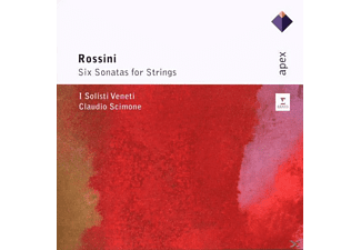Claudio Scimone - Six Sonatas For Strings - (CD)
