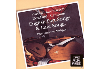Pro Cantione Antiqua - English Part Songs & Lute Songs - (CD)