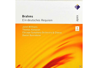 Barenboim/Cso/Williams/Hampson - Ein Deutsches Requiem Op.45 - (CD)
