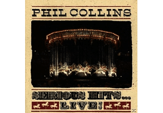 WM INTL. Phil Collins - Serious Hits...Live!