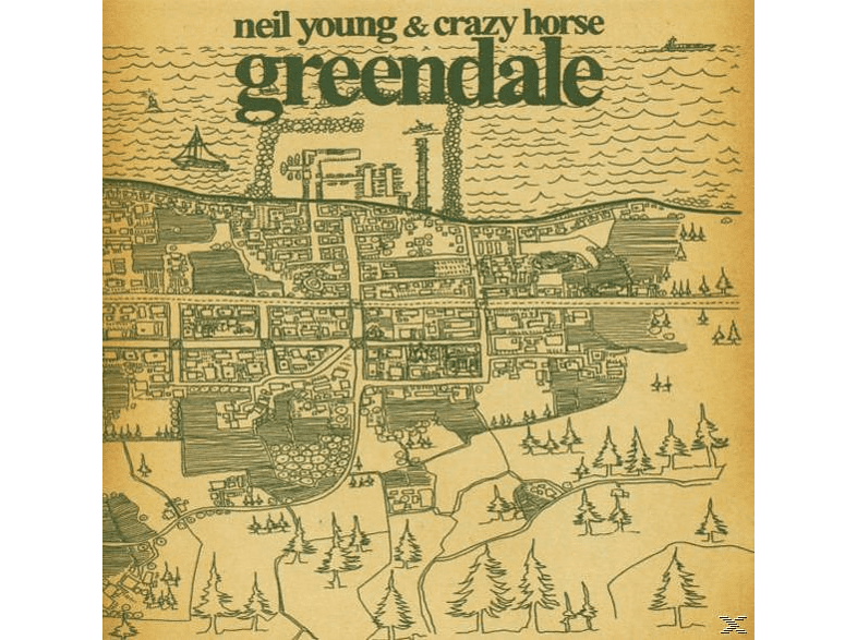 Neil Young - Greendale [CD]