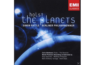 Simon Rattle - The Planets - (CD EXTRA/Enhanced)