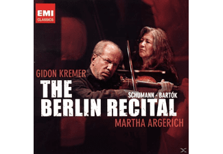 Gidon Kremer - The Berlin Recital - (CD)