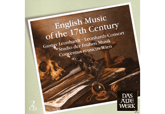 Leonhardt Consort - English Music Of The 17th Century - (CD)