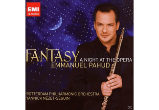 Emmanuel Pahud, Rotterdam Philharmonic Orchestra, Nezet-seguin - Fantasy: A Night At The Opera - (CD)