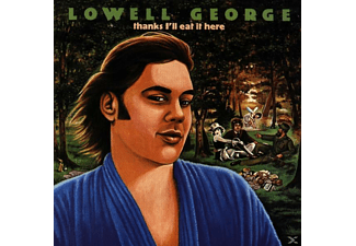Lowell George - Thanks I'll Eat It Here - (CD)
