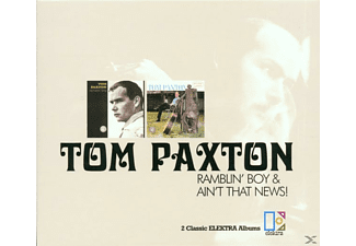 Tom Paxton - Ramblin' Boy+Ain't That News - (CD)